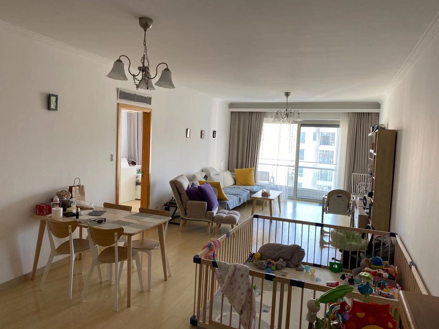 3br In Water Front New compund with gym pool /Zhenping Rd line 7/3/4