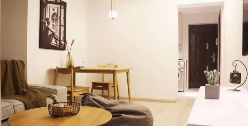 Decent 1 br at Xinzha Near West nanjing Rd of line 2/12/13