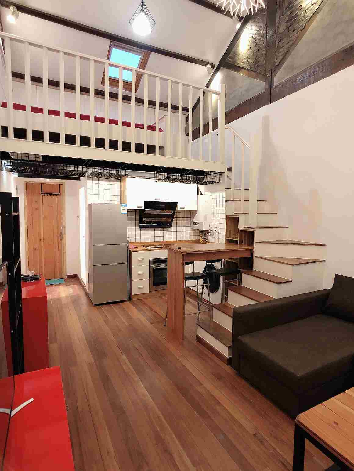 1br Loft at Wuding Rd Near West Nanjing Rd L2/12/13