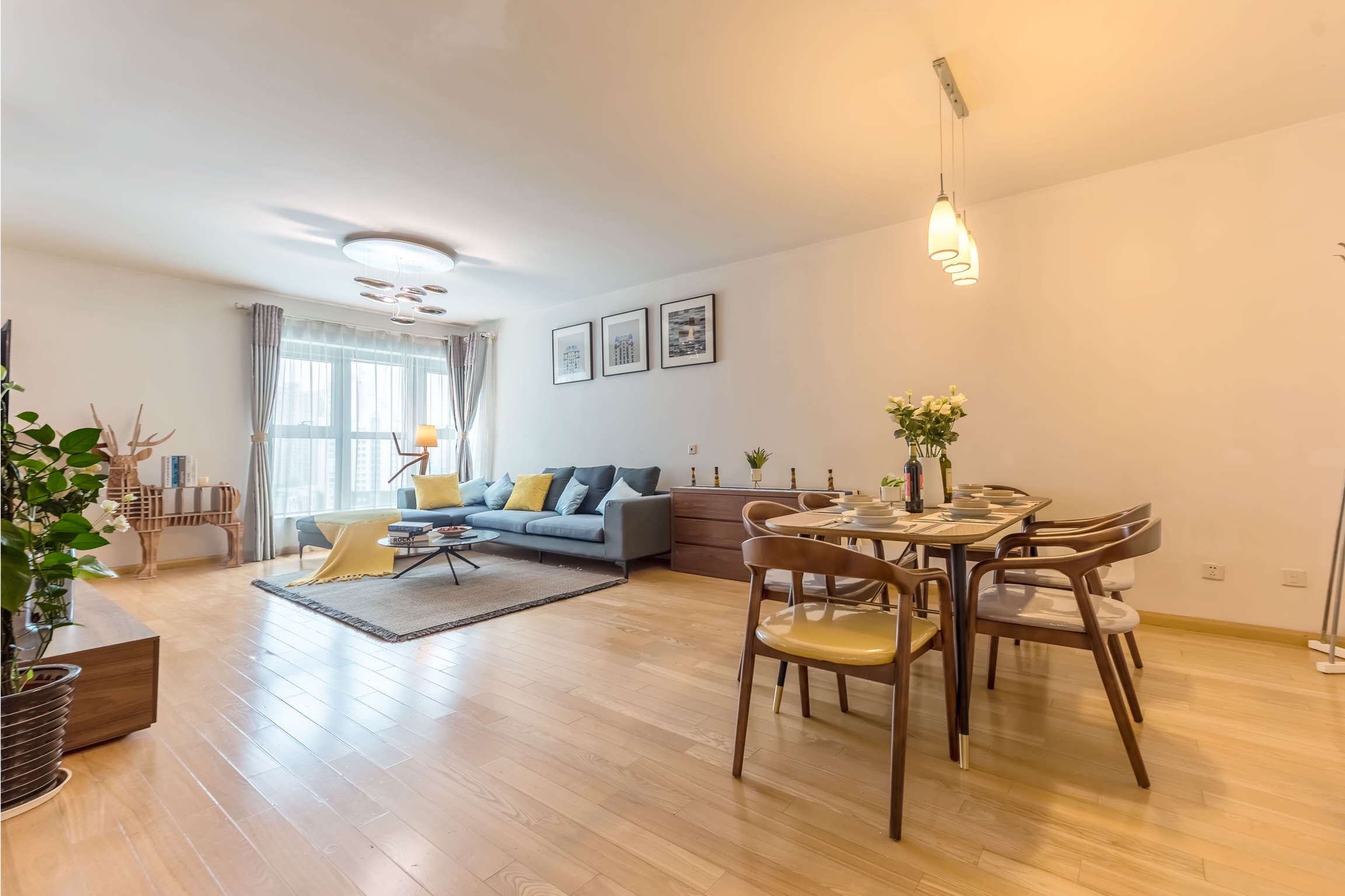 3br in 8 Park 静安豪景 With Gym and swimming pool JIngan